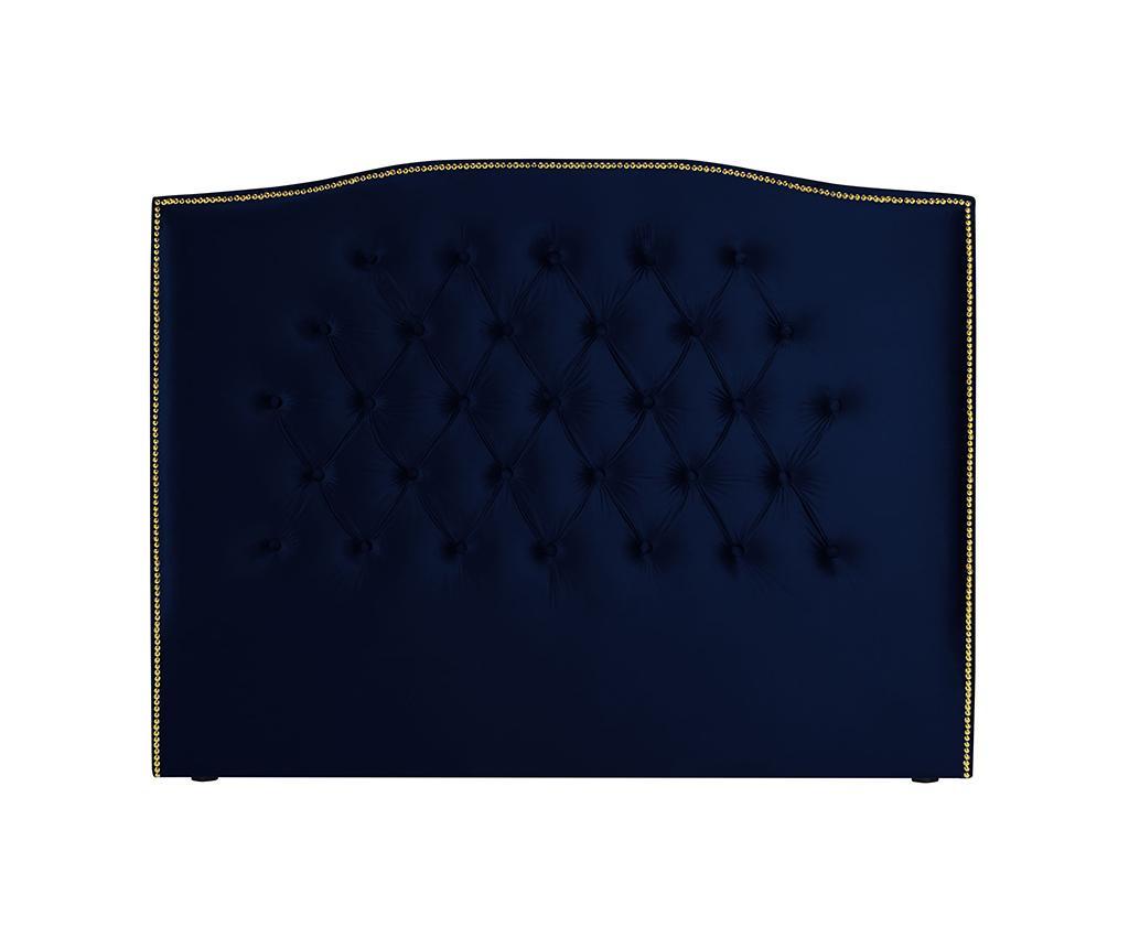 Tablie de pat Daisy Navy Blue 160 cm