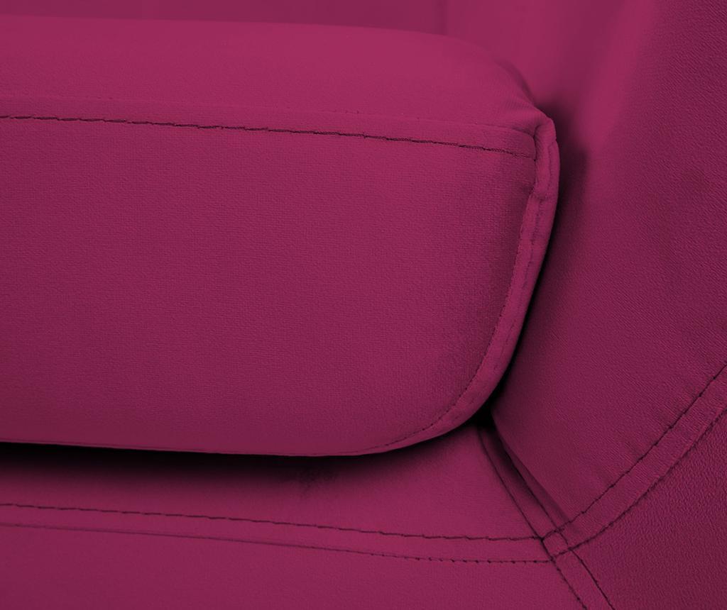 Canapea 2 locuri Benito Pink Natural