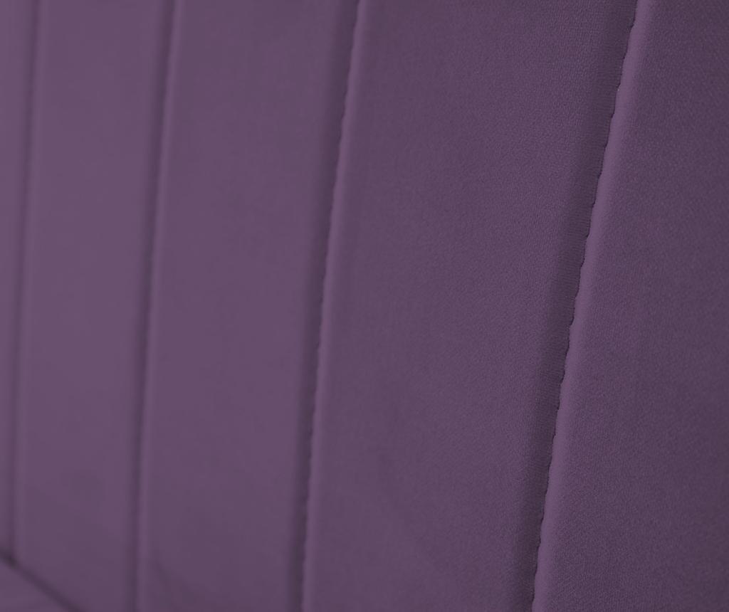 Canapea 2 locuri Benito Violet Natural