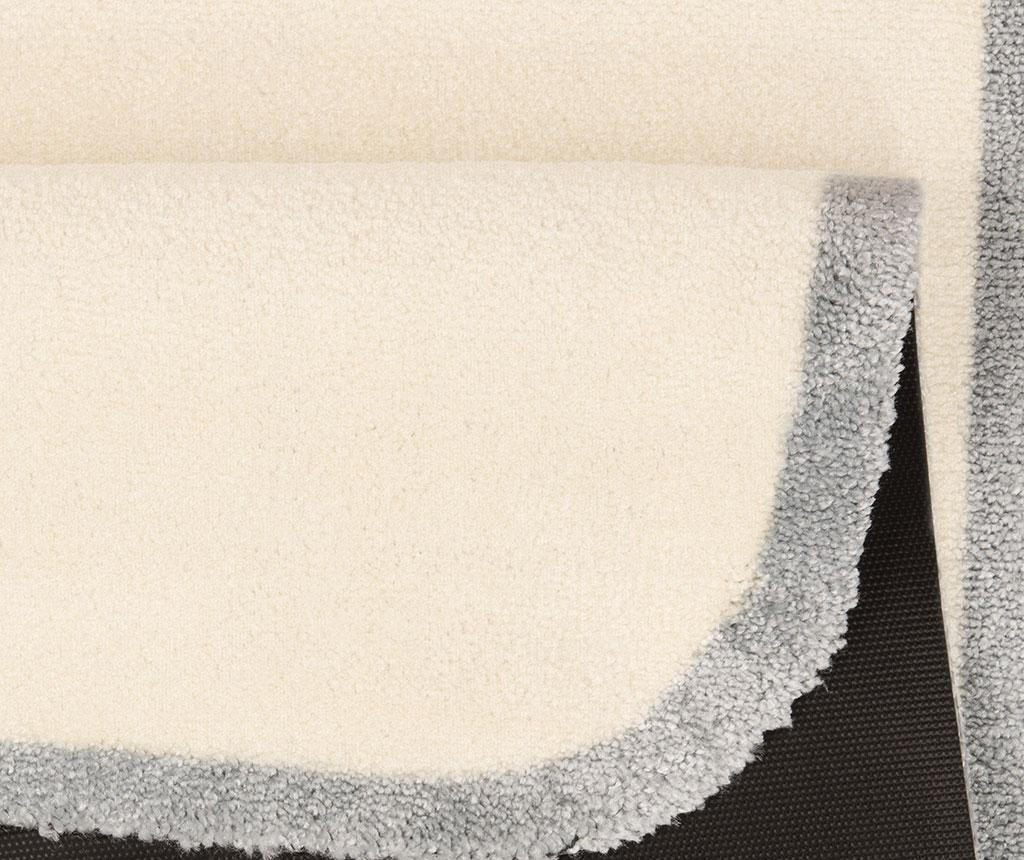 Covor Linda Cream Grey 67x120 cm