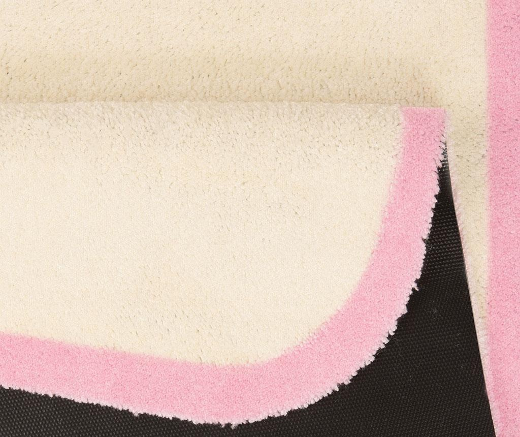 Covor Linda Cream Rose 67x120 cm