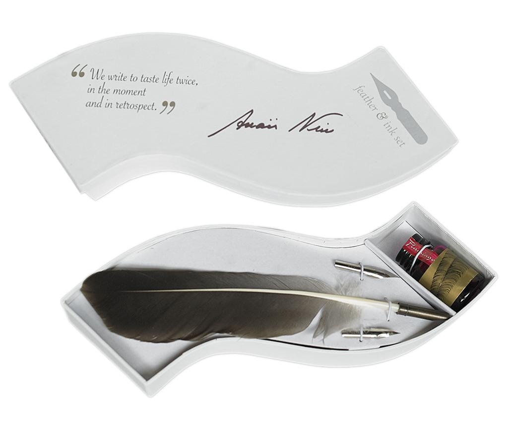 Set pentru caligrafie Wave Feather