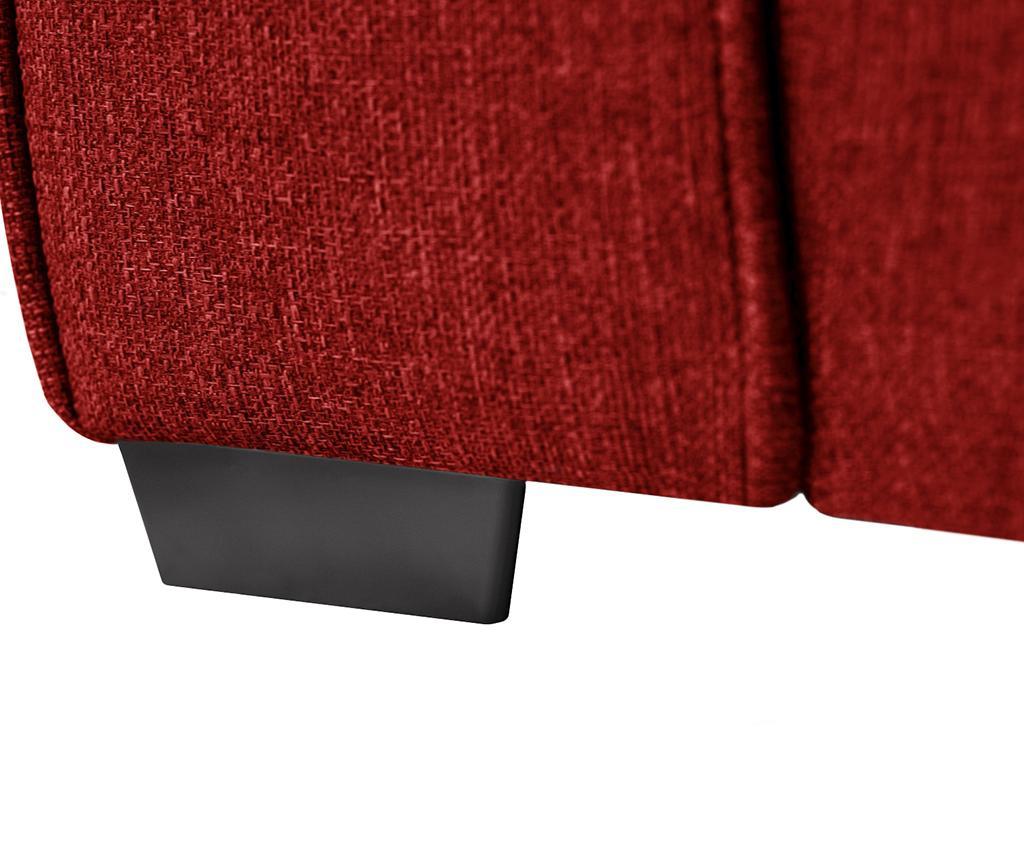 Ivy Glamour Red Kétszemélyes kihúzható  kanapé
