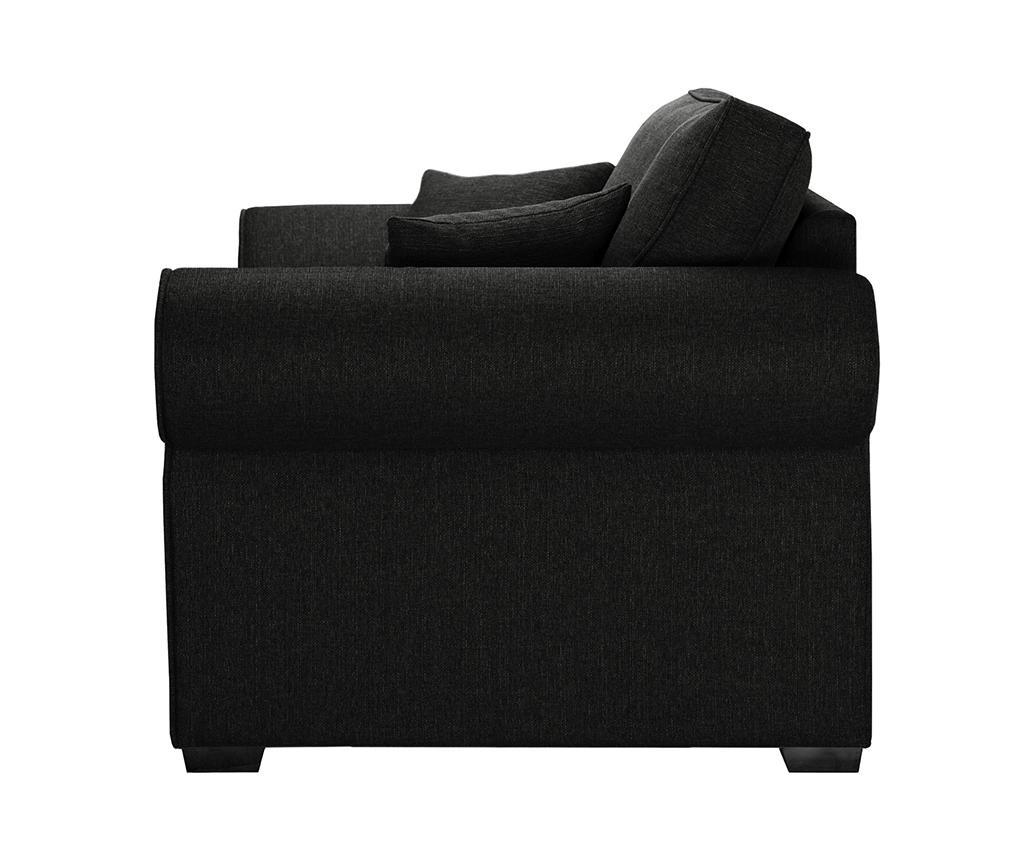 Ivy Black Kétszemélyes kihúzható  kanapé