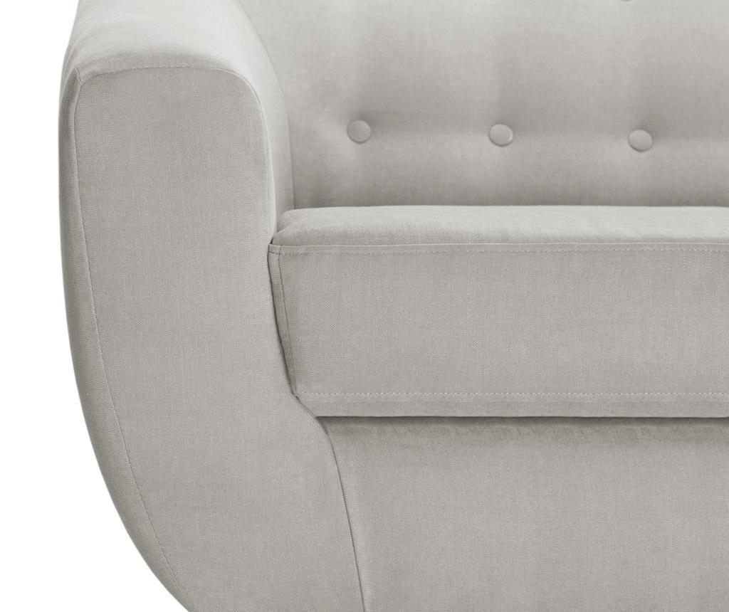 Canapea 2 locuri Vicky Light Grey