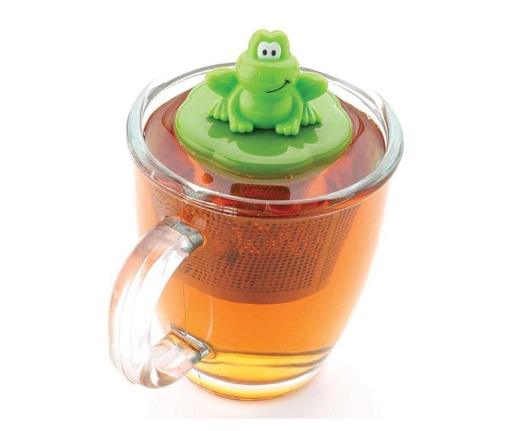 Cedilo za čaj in držalo Ribbit