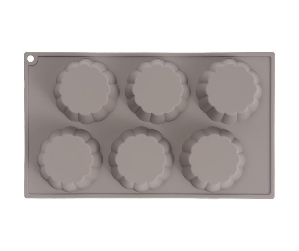 Flower Sütőtepsi 6 muffinnak