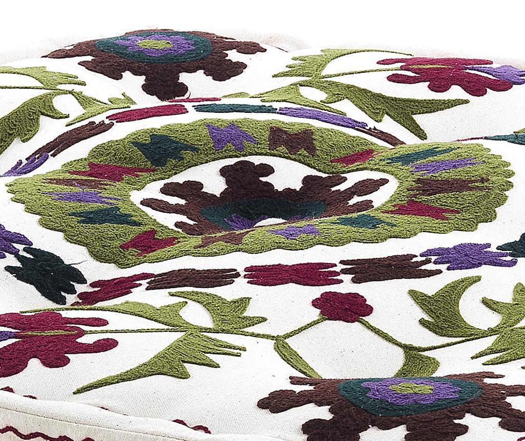 Perna de podea Yantra White 80x80 cm