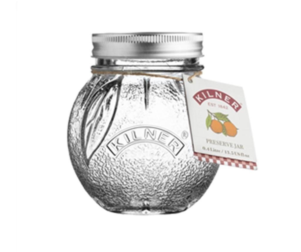Steklenka s pokrovom Bitt Orange 400 ml