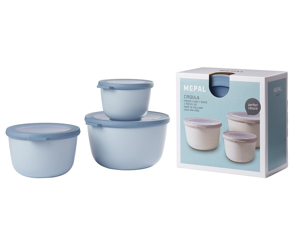Set 3 caserole Sophi Blue