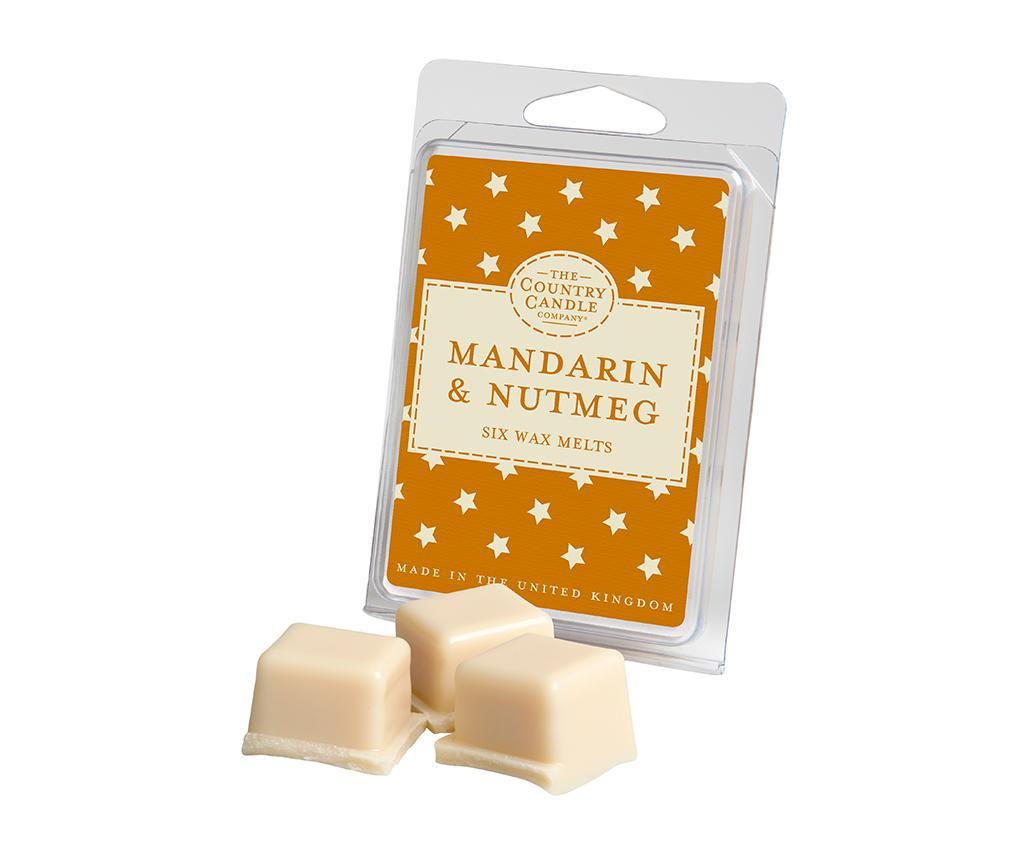 Set 6 bucati de ceara parfumata Superstars Mandarin and Nutmeg