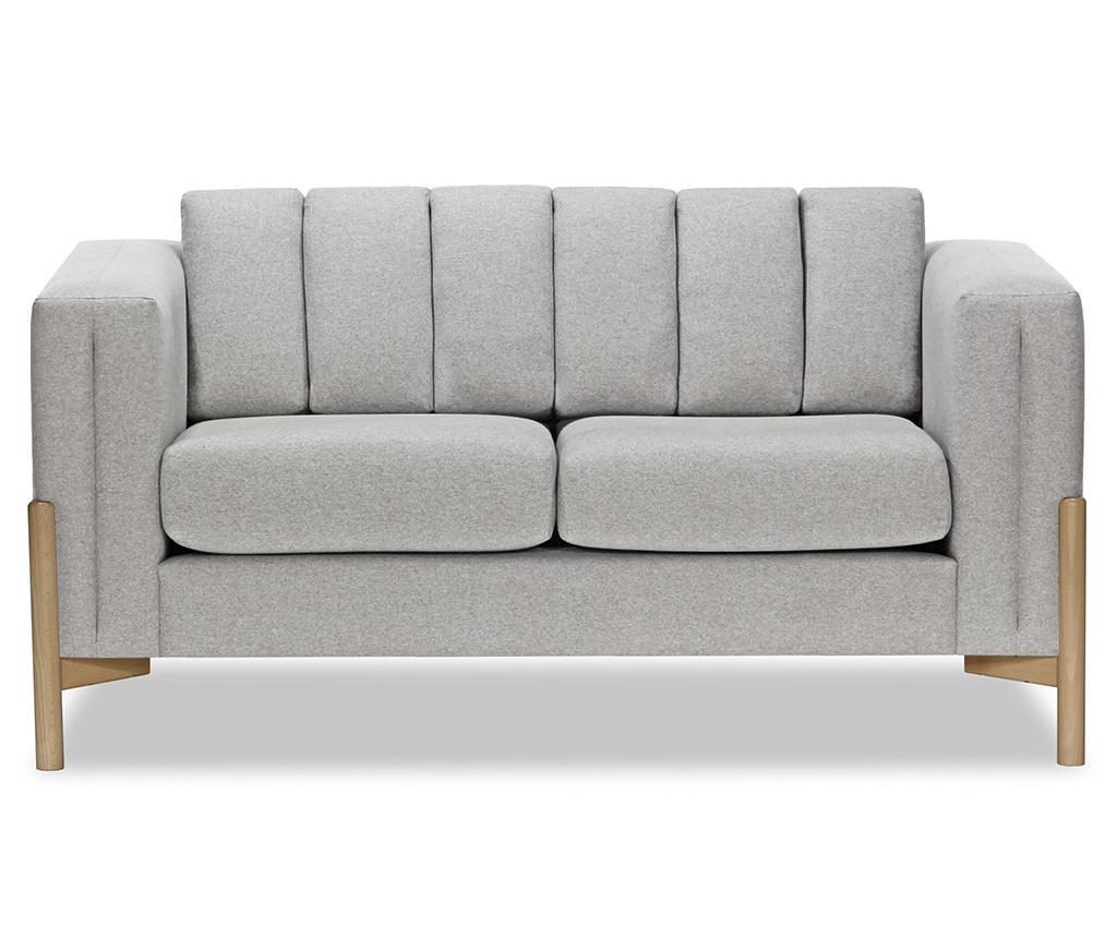 Canapea 2 locuri Haki Ontario Light Grey