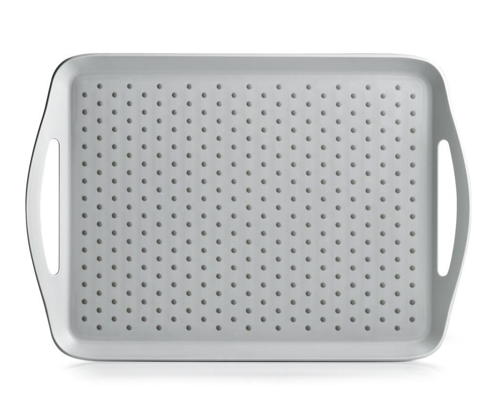 Tava pentru servire Dots Grey