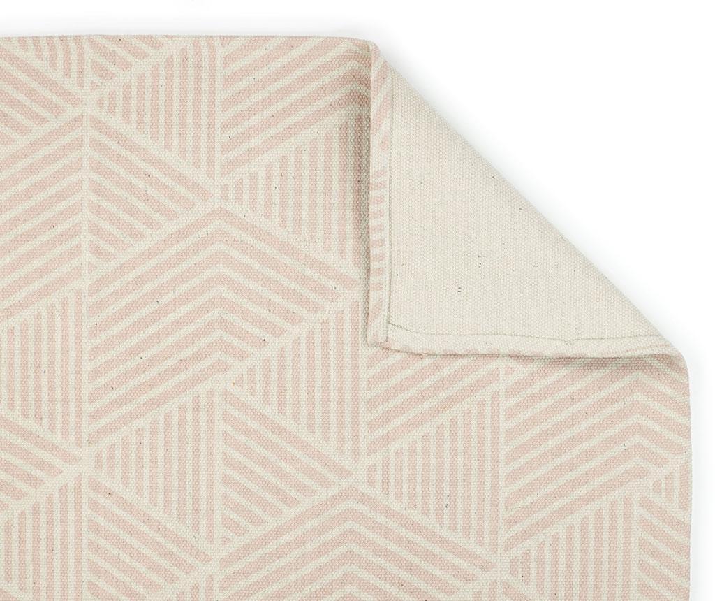 Geometric Pink Szőnyeg 120x160 cm