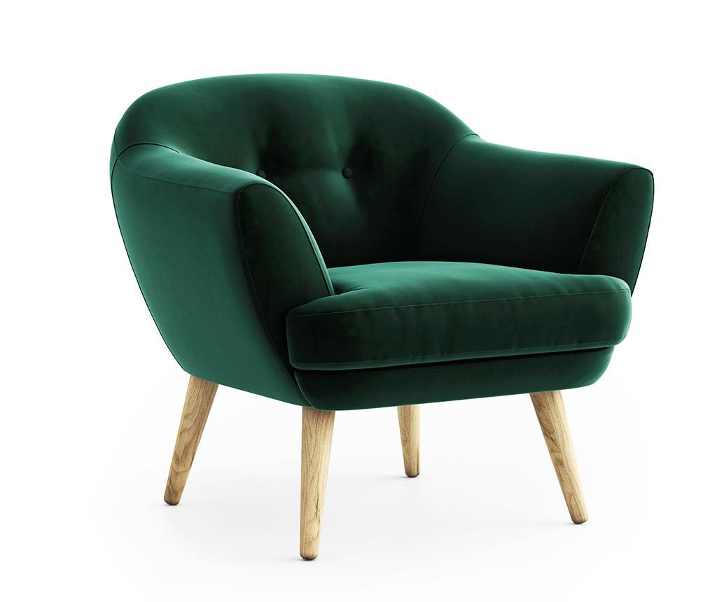 Fotelj Elsa Riviera Dark Green