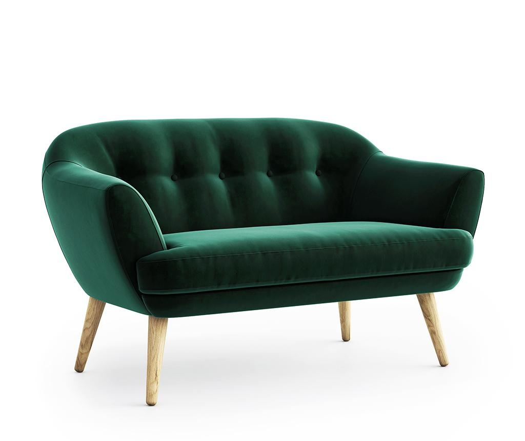 Kauč dvosjed Elsa Riviera Dark Green