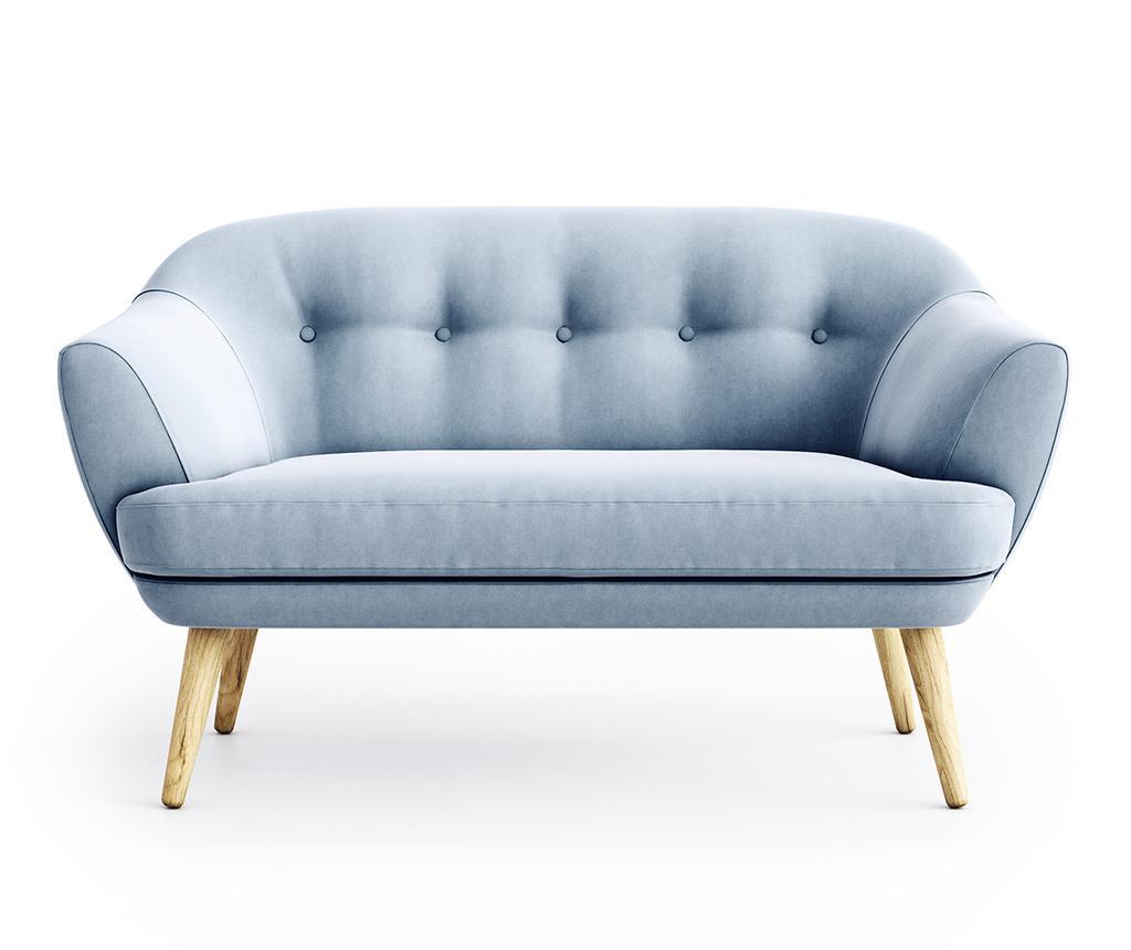 Dvojmiestna pohovka Elsa Riviera Steel Blue
