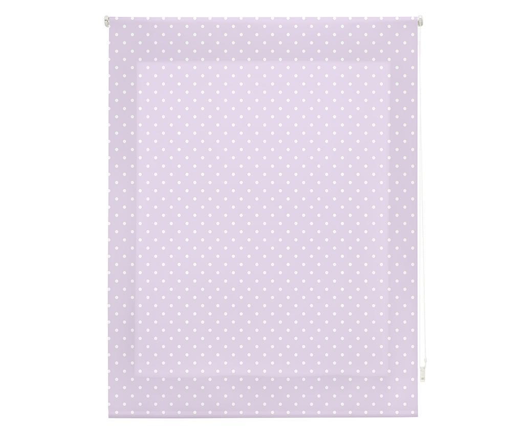 Dots Purple Roletta 110x180 cm
