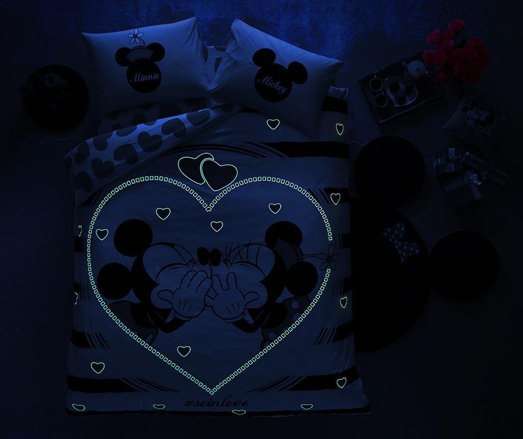 Minnie & Mickey Amour Kétszemélyes ágynemű 200x220