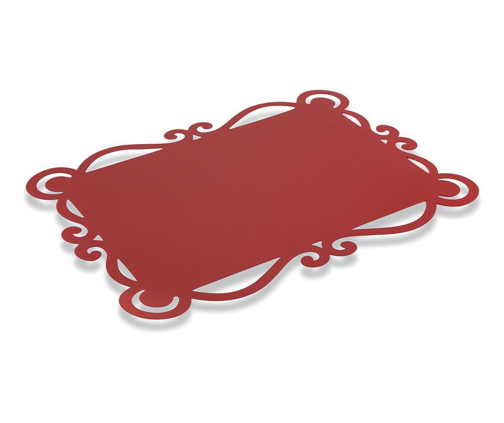 Set 6 podmetača Dorian Red 32x44 cm