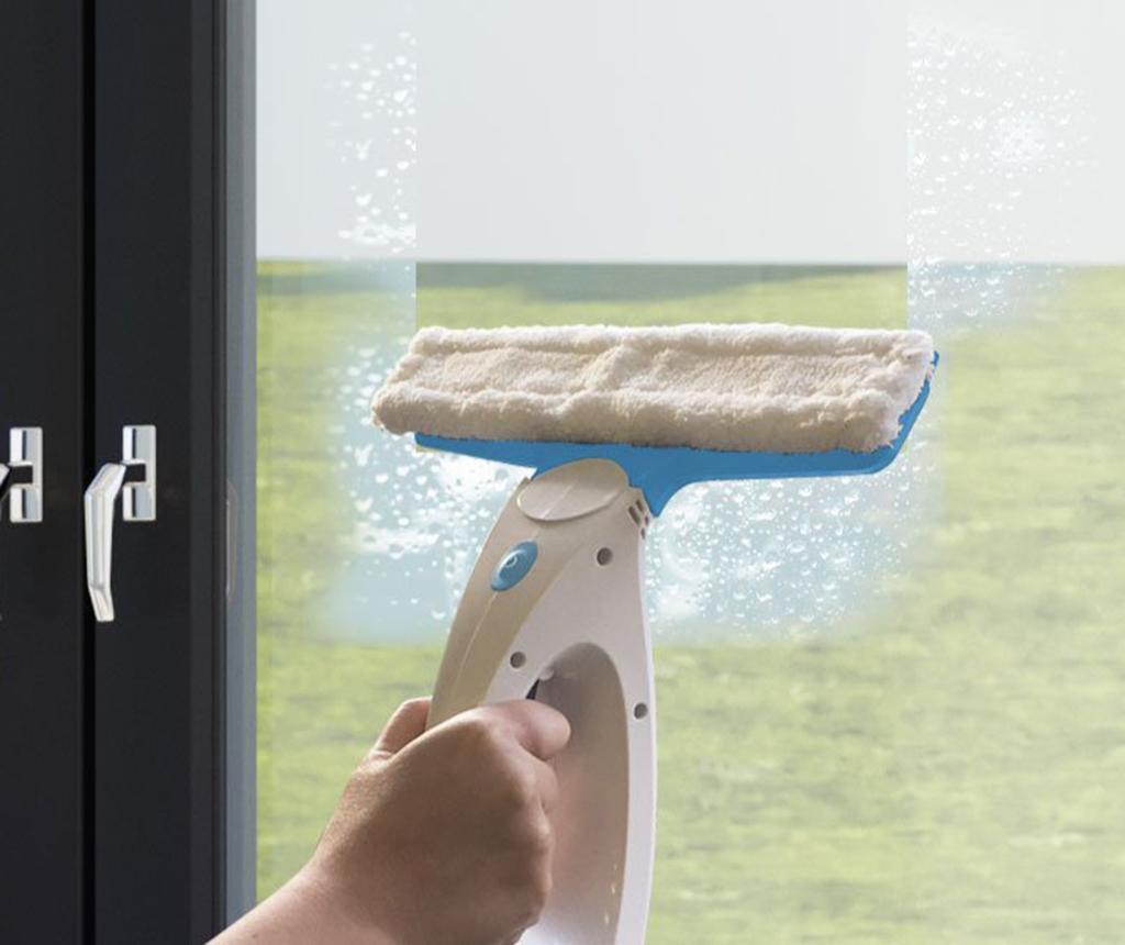 Aparat de curatat geamuri cu aspiratie 3 in 1 Klinkby