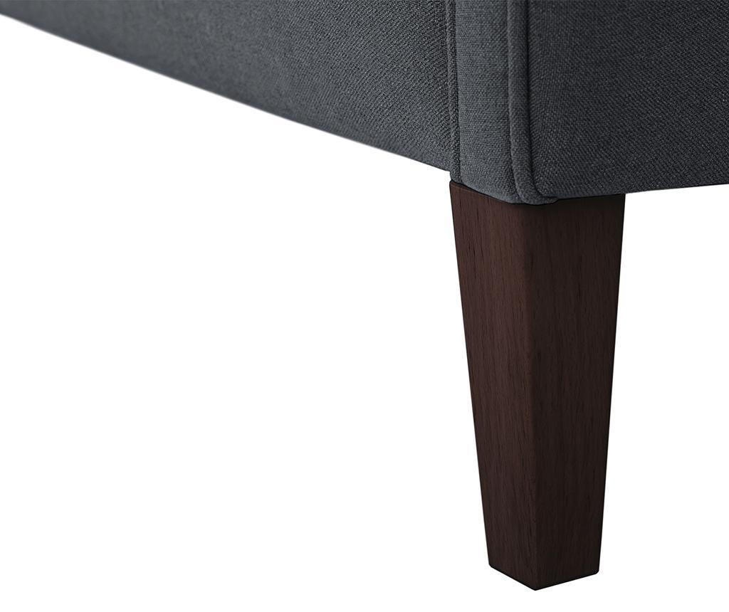 Canapea 2 locuri Alpaga Anthracite