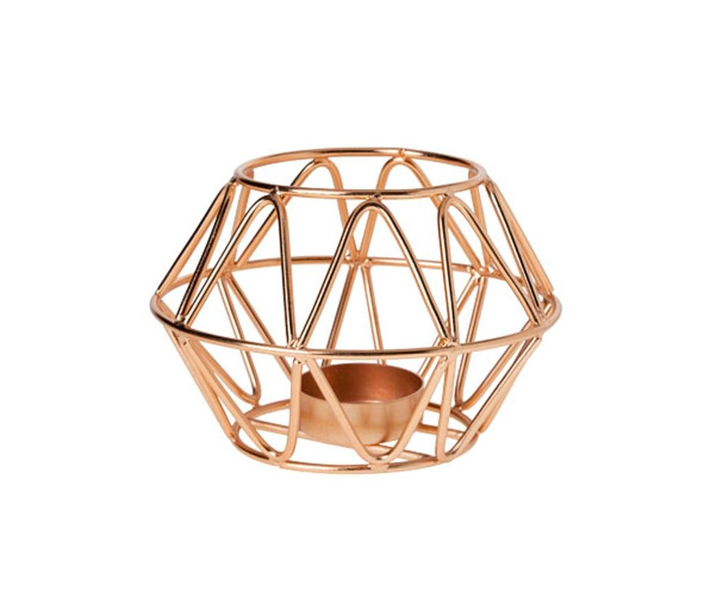 Držač za svijeću Copper Simple
