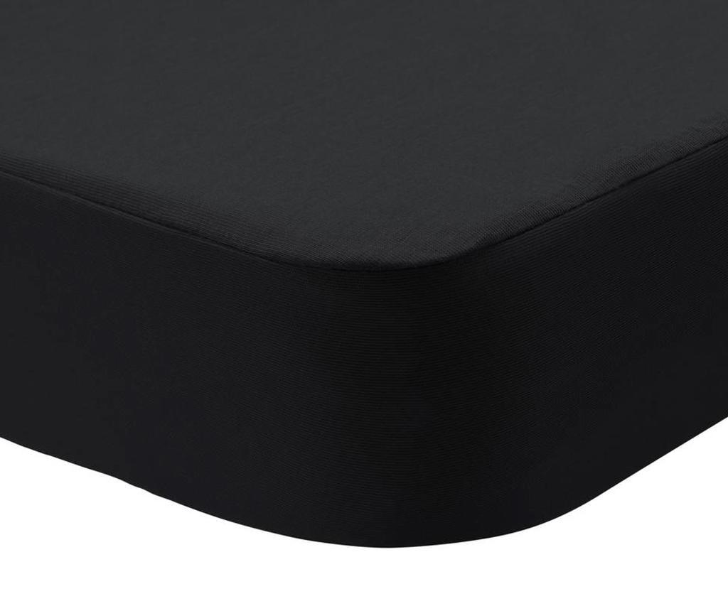 Husa impermeabila pentru saltea Randall 2 in 1 Black 150x200 cm