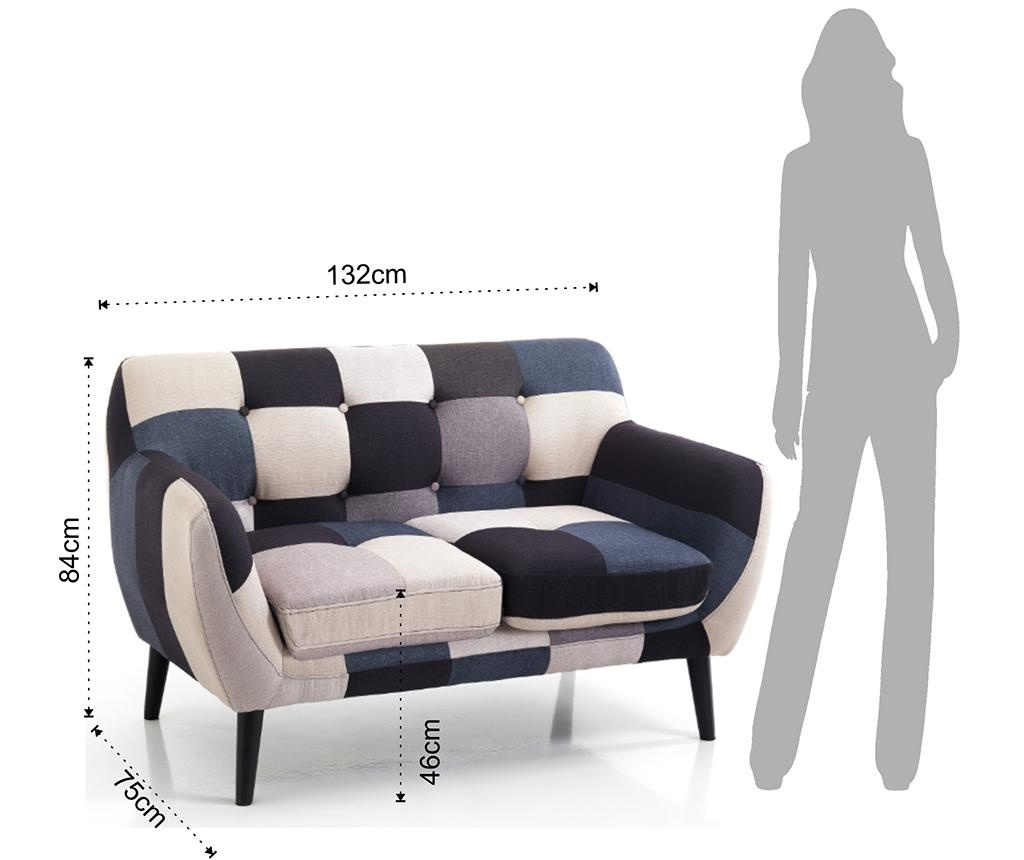 Canapea cu 2 locuri Gialos