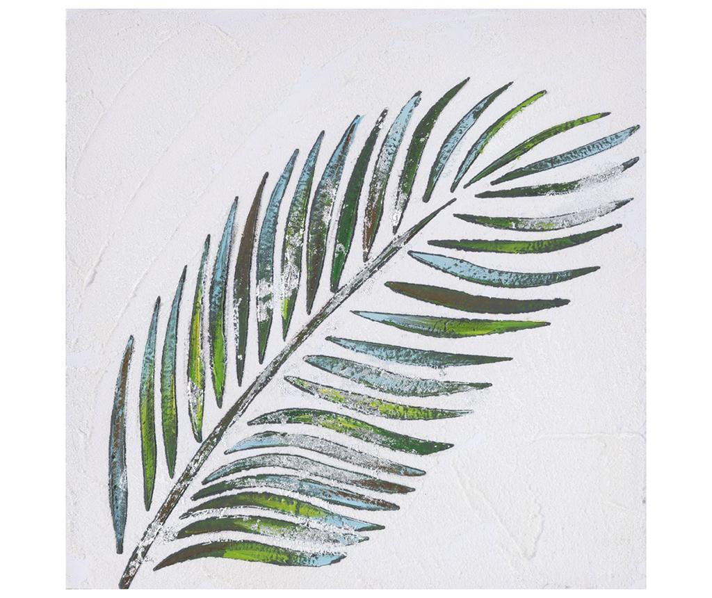 Tablou Tropical Leaf 30x30 cm