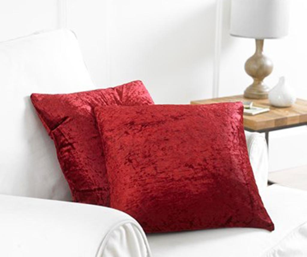 Set 2 fete de perna Bliss Red 43x43 cm