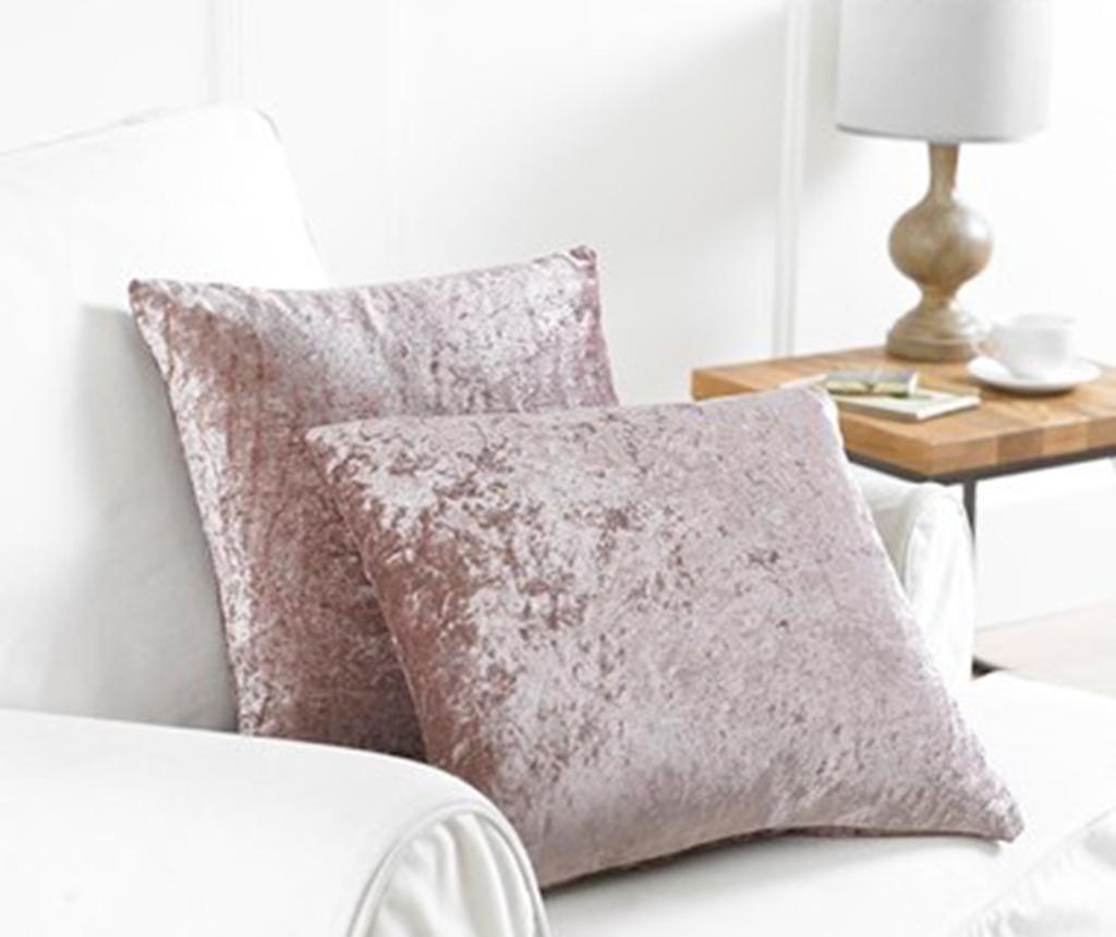 Set 2 prevlek za blazino Bliss Pink 43x43 cm