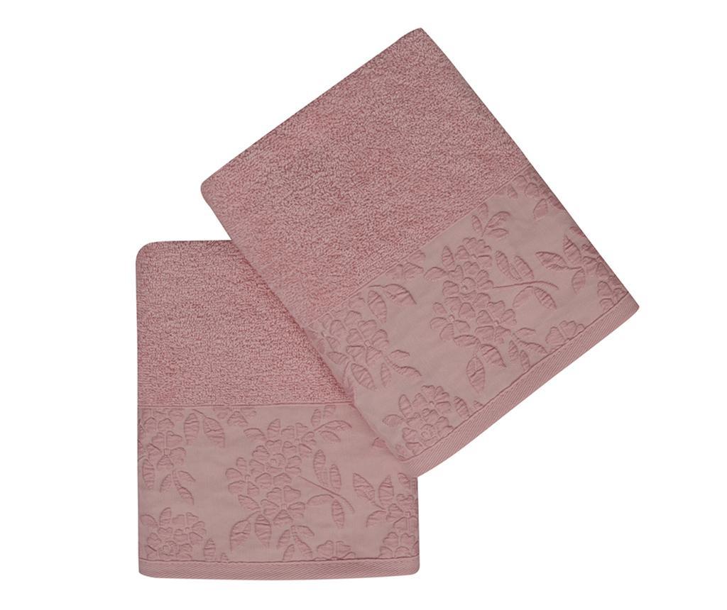 Pamela Pink 2 db Fürdőszobai törölköző 50x90 cm