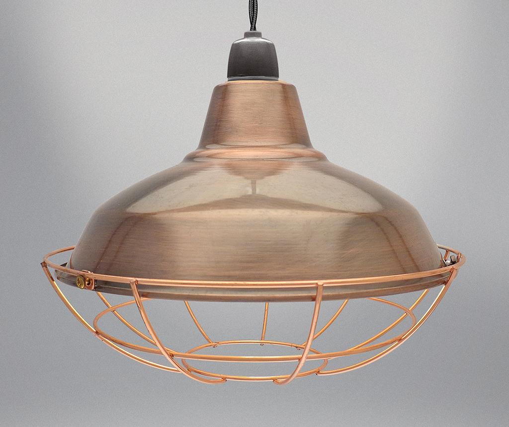 Abajur Sona Brown Copper