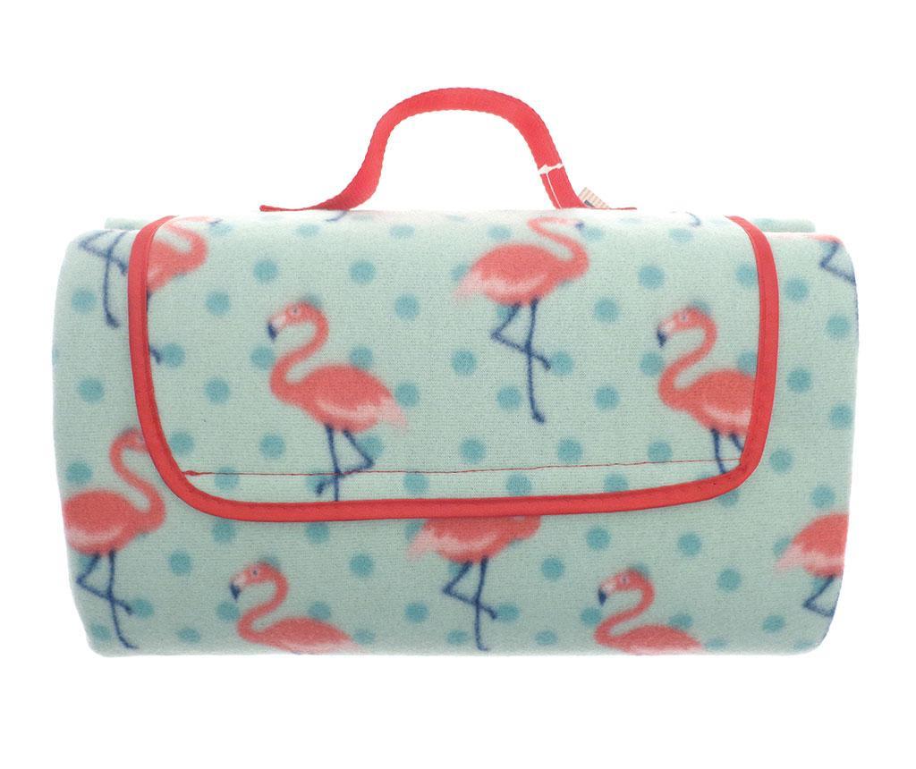 Flamingo Piknik takaró 130x150 cm