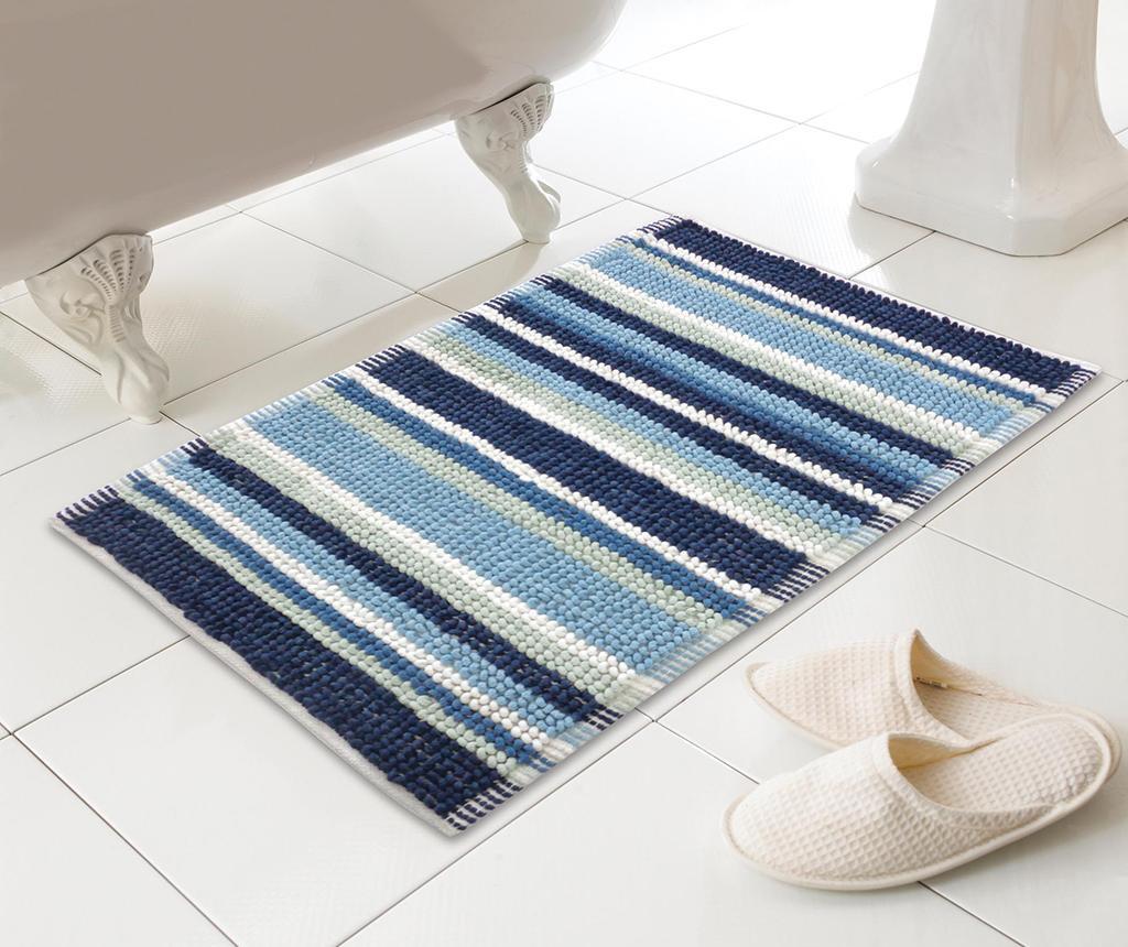 Kupaonski tepih Stripe Blue 50x80 cm
