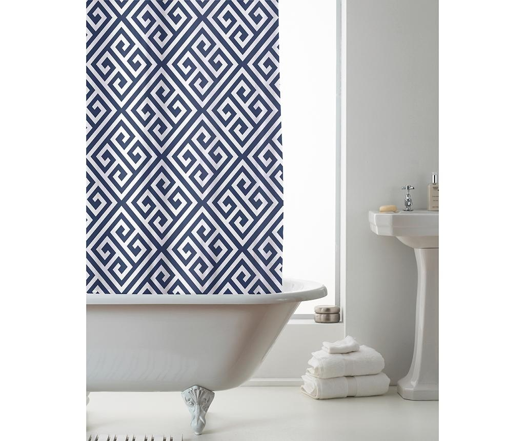 Zavesa za prho Deco Indigo 180x180 cm