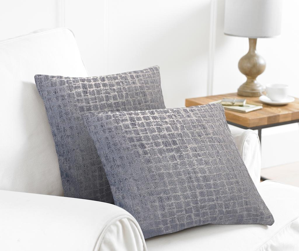 Set 2 prevlek za blazino Trend Grey 43x43 cm