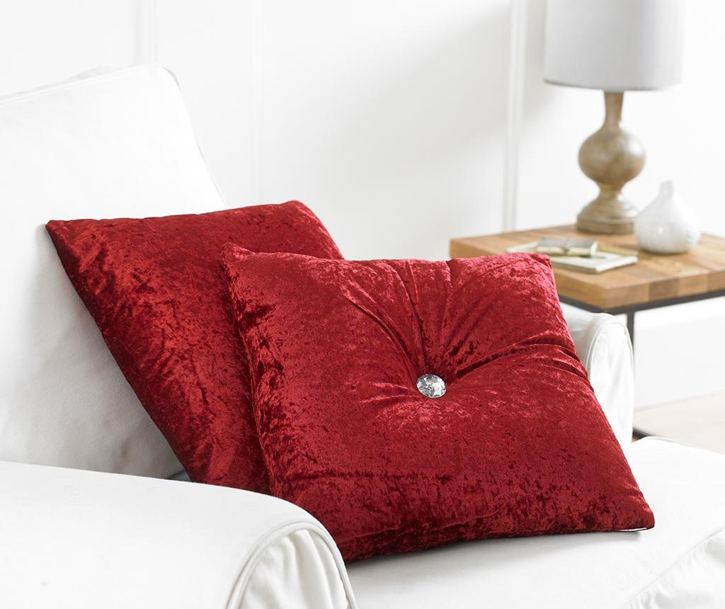 Okrasna blazina Opulence Red 43x43 cm