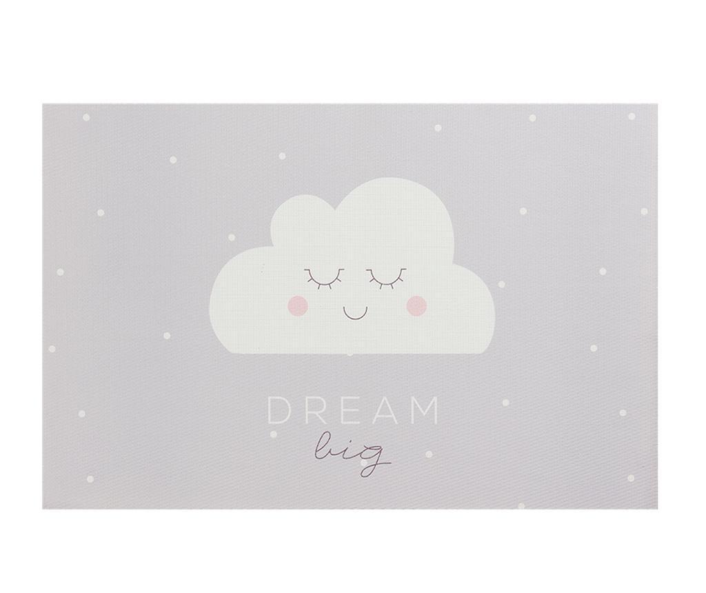 Suport farfurie Dream Big Grey 30x45 cm