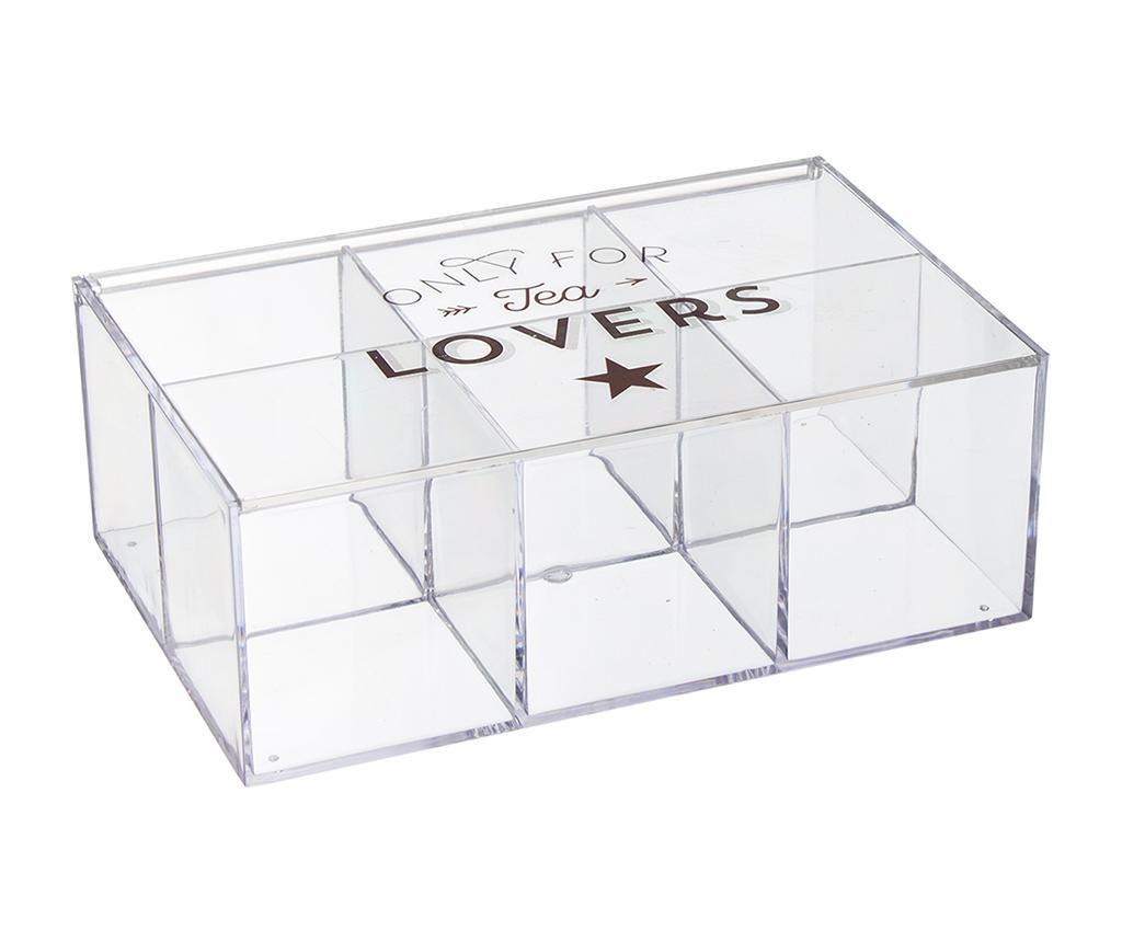 Cutie cu capac pentru ceai Lovers