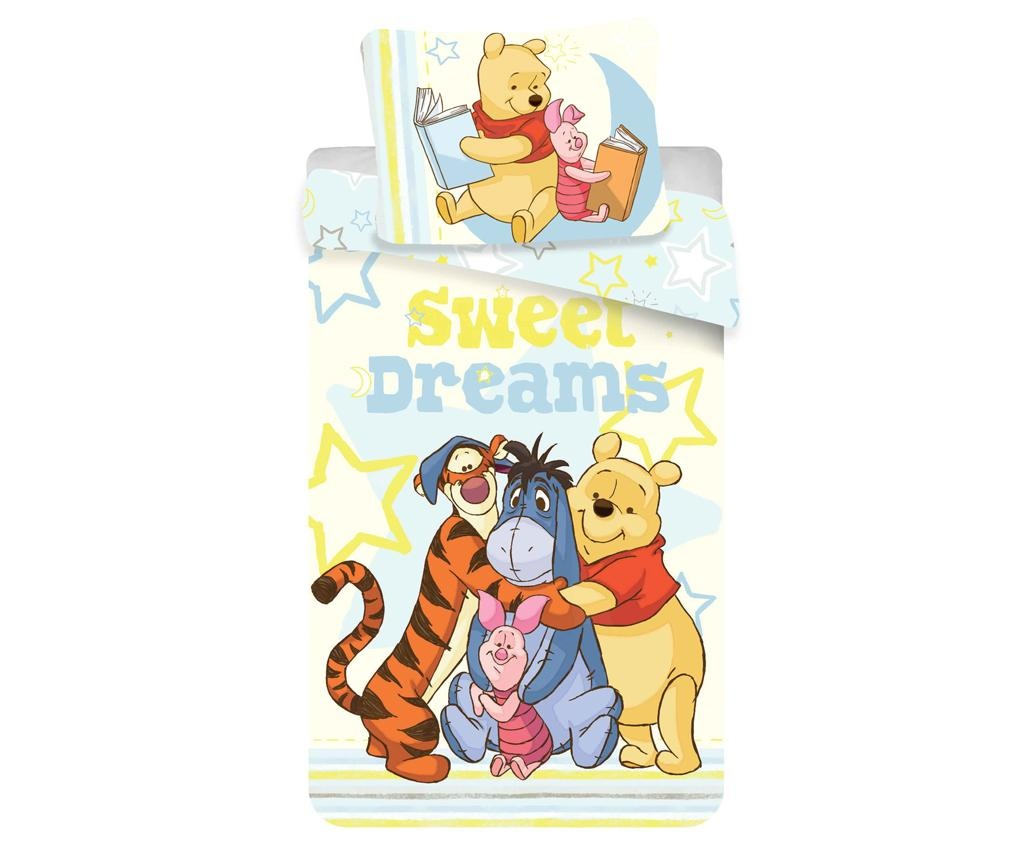 Posteljina Single Ranforce Winnie the Pooh Sweet Dreams