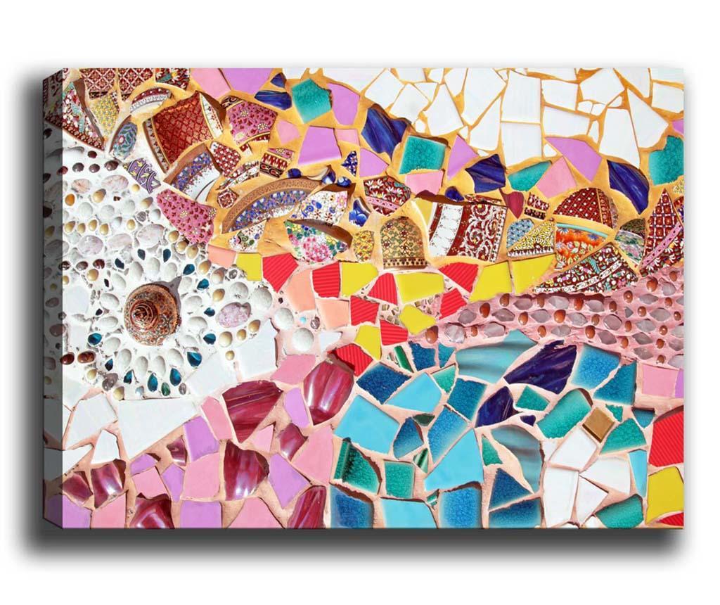 Tablou Mosaic 100x140 cm
