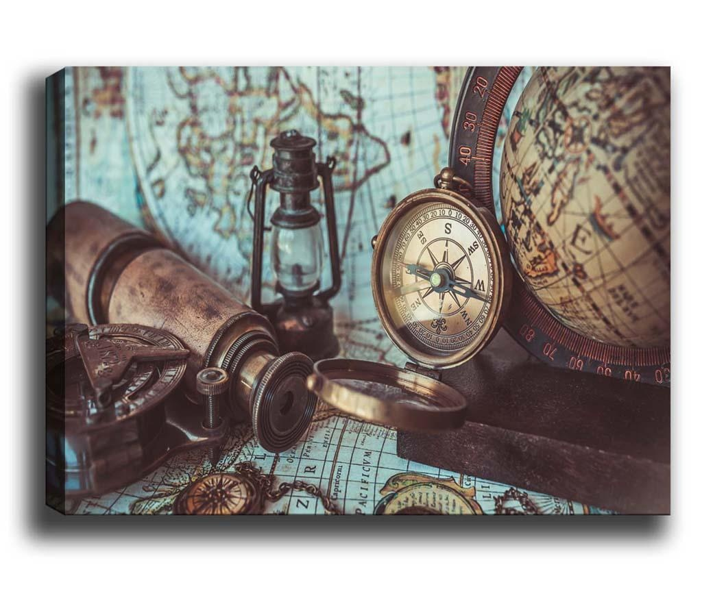 Tablou Compass 70x100 cm