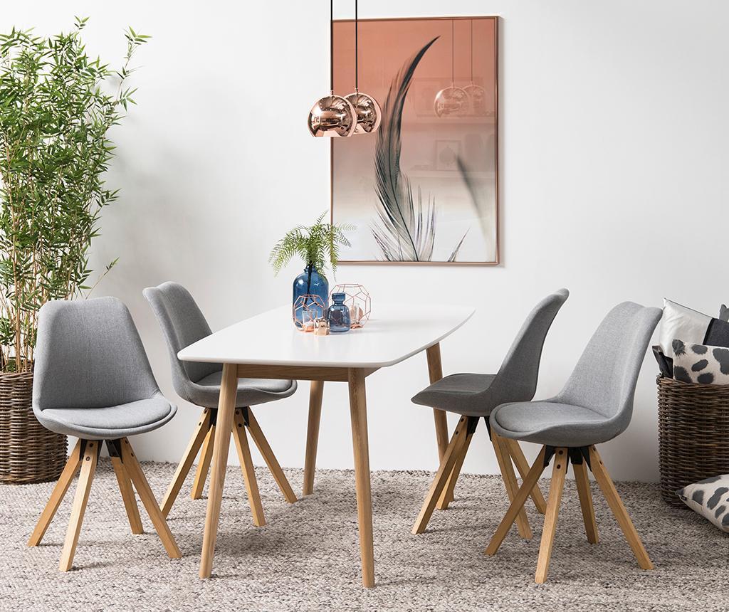 Set 2 stolice Dima Corsica Light Grey
