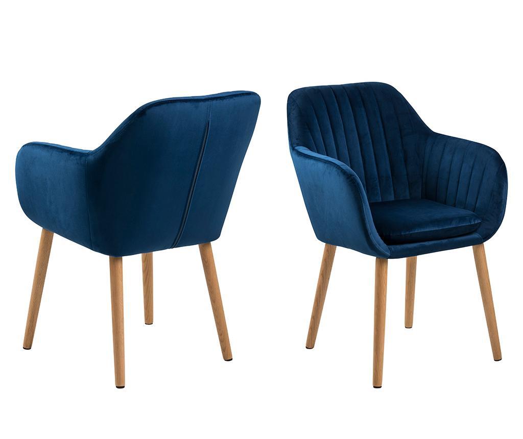 Καρέκλα Emilia Dark Blue