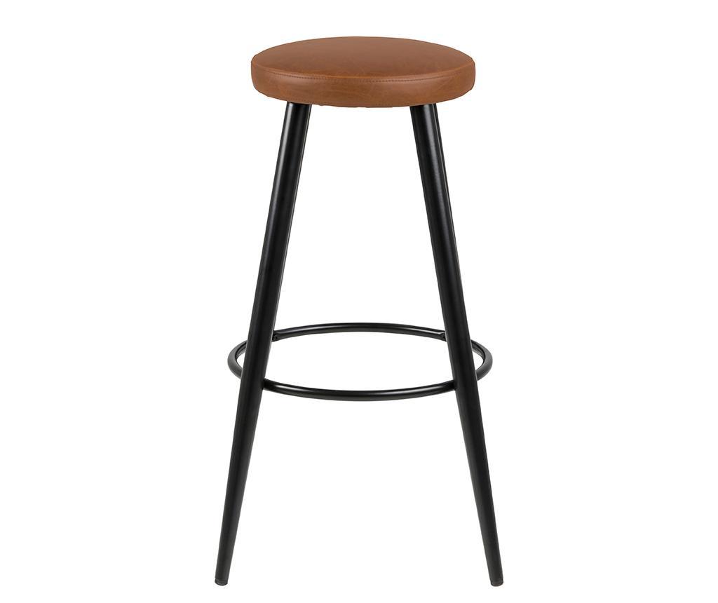 Set 2 barske stolice Hector Vintage Brandy