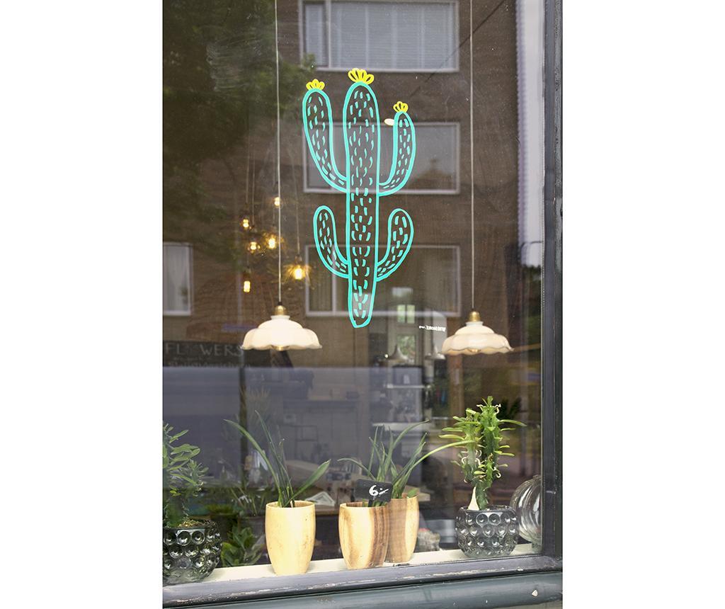 Set 3 okenskih vzorcev in marker s tekočo kredo Arizona Vibes