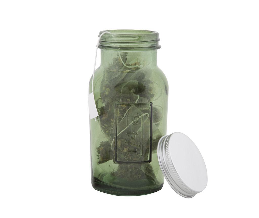 Joe Thinner Green Befőttesüveg fedővel
