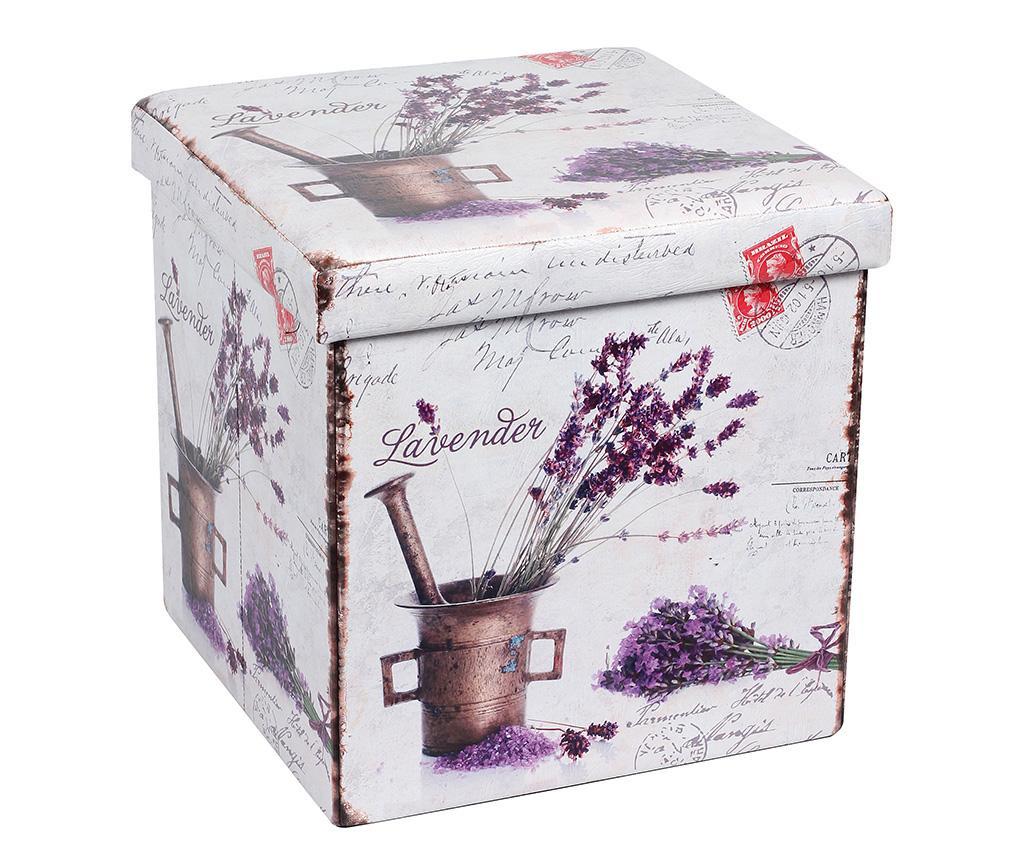 Sklopivi tabure Romantic Lavender